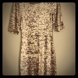 BCBG sequin dress
